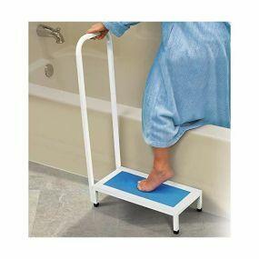 Non-Slip Bath Step With Handle