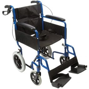 Transit-Lite Wheelchair - Blue