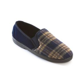 Slippers - Peter Size 7 (Navy)