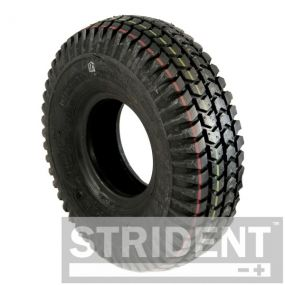 Pneumatic Black Block Tyre - 260 x 85 (3.00 - 4)