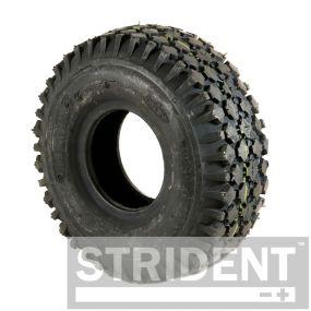 Pneumatic Black Tyre - 410/350 x 4