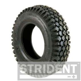 Pneumatic Black Tyre (Pattern Block C156) - 410/350x6