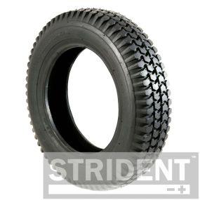 Pneumatic Black Tyre (Pattern Block C248) - 300 x 8