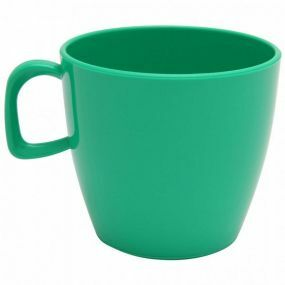 Polycarbonate Tea Cup - Emerald Green