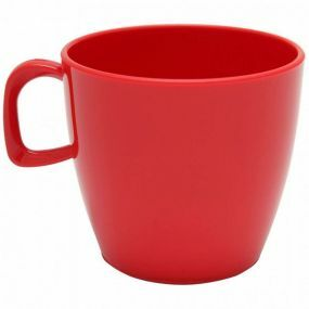 Polycarbonate Tea Cup - Red