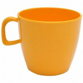 Polycarbonate Tea Cup - Yellow