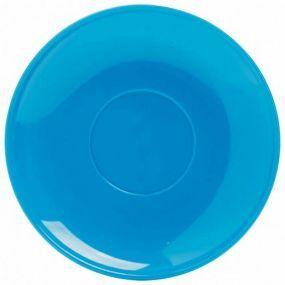 Polycarbonate Tea Saucer - Blue