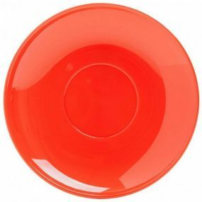 Polycarbonate Tea Saucer - Red