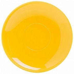 Polycarbonate Tea Saucer - Yellow
