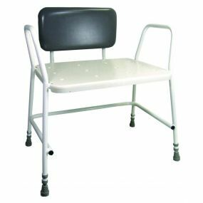 Portland Bariatric Height Adjustable Shower Stool With Backrest