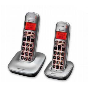 Amplicomms BigTel 1202 Pair Of Cordless Portable Telephones