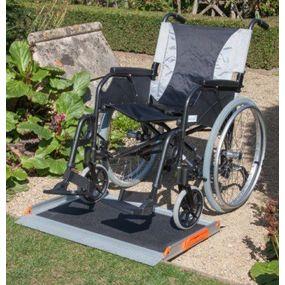 Premium Non-Folding Wheelchair Ramp - 2ft