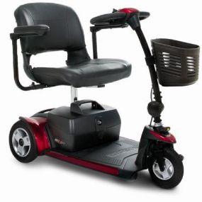 Pride GoGo Elite Traveller Plus Boot Scooter - 3 Wheel