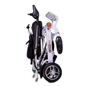 Pride iGo Fold Automatic Folding Electric Wheelchair - Silver