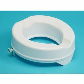 Prima Raised Toilet Seat - Without Lid - 4