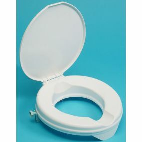 Prima Raised Toilet Seat - With Lid - 2