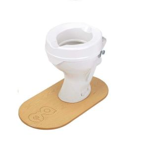 Prima Raised Toilet Seat - Without Lid - 6