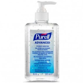 Purell Advanced Hand Sanitiser Pump - 300ml Bottle