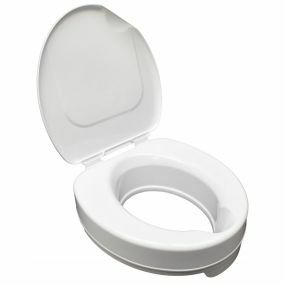 Raised Toilet Seat With Lid - 4