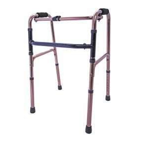 Folding Walking / Zimmer Frame - Bronze