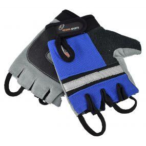 Revara Sports Wheelchair Gloves - XL (Blue)