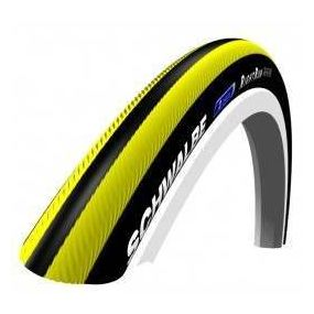 Schwalbe - RightRun Coloured Wheelchair Tyres - Yellow/Black, Size: 24 x 1 (25 x 540)