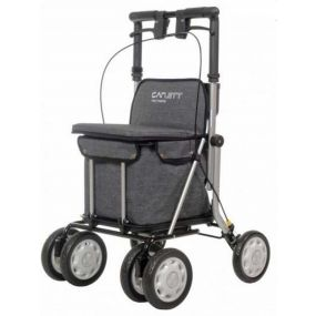 Rollator / Shopping Trolley - Grey