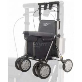 Carlett Shopping Trolley / Rollator - Black