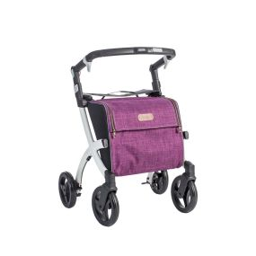 Rollz Flex Shopping Trolley and Rollator - Flip Brakes