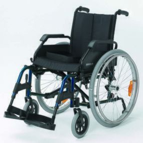 Roma - Lightweight Self-Propelling Wheelchair - Blue - 18