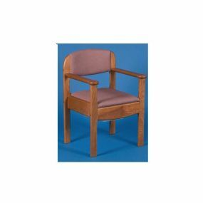 Royale Commode - Beech frame - Dusky Pink