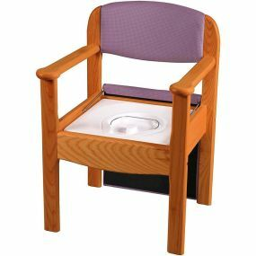 Royale Commode Chair - Flat Packed