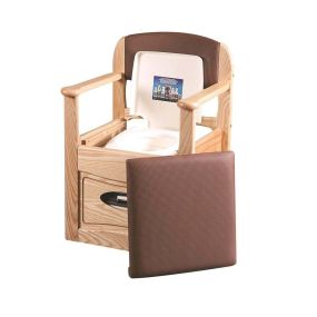 Royale Flushing Commode Chair