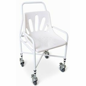 Mobility Utility Shower Chair Adjustable Height