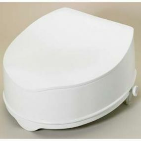 Savanah Raised Toilet Seat With Lid - 15cm (6