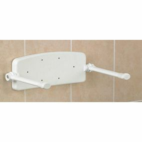 Savanah Wall Mounted Shower Seat - Backrest & Arms ONLY