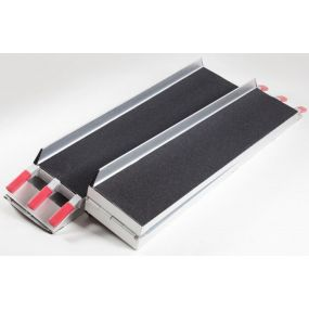 Scooter Ramp with Black Grip Surface - 222cm