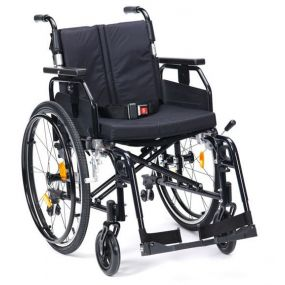 Super Deluxe 2 Alu Wheelchair - Black 16