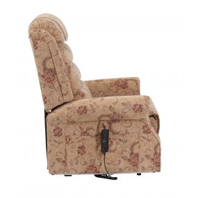 Serena Deluxe Riser Recliner Chair (Dual Motor) - Floral