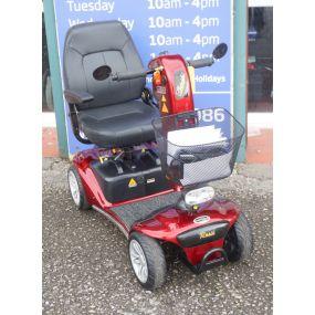 2017 Shoprider Valencia Mobility Scooter - Red **A Grade Condition**
