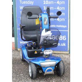 2017 Shoprider Valencia Mobility Scooter - Blue **A Grade Condition**