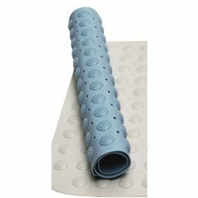 Shower Mat - Blue (19 x 19