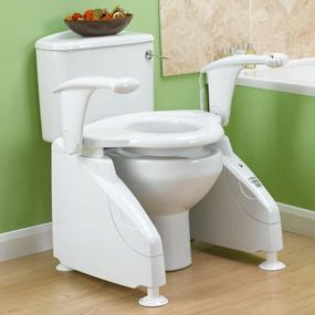 Solo Toilet Lift with Arms - Left Hand Switch