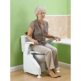 Solo Toilet Lift with Arms - Right Hand Switch