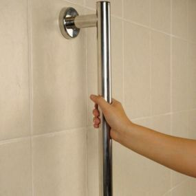 SPA Stainless Steel Fixed Grab Rail - 600mm (24