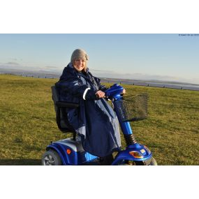 Splash Sleeved Scooter / Wheelchair Poncho