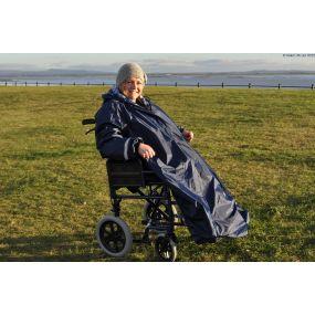 Splash Deluxe Lined Wheelchair Mac (Sleeved) - Large