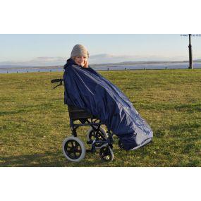 Splash Deluxe Lined Wheelchair Mac (Unsleeved) - Medium