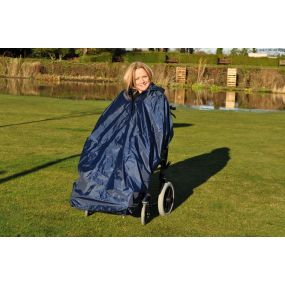 Splash Deluxe Lined Wheelchair Mac (Unsleeved) - Large