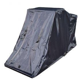 Standard Mobility Scooter Folding Garage (Extra Wide) - Black